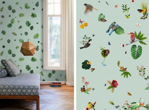 Droomhome interieur woonsite - Behang patroon voor de slaapkamer ...