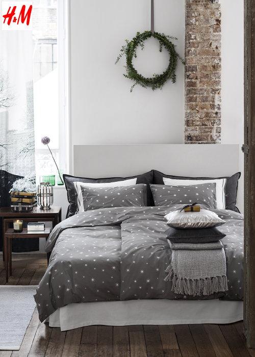 Landelijke slaapkamer grijs spscents