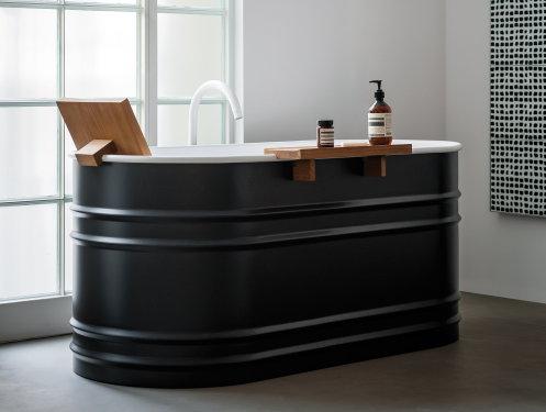 Vrijstaand bad kleine badkamer