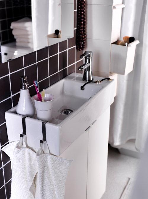 Badkamer Meubel Hoek ~ Badkamer Tips Luxe in de Kleine Badkamer ? Ikea Wastafel Silveran
