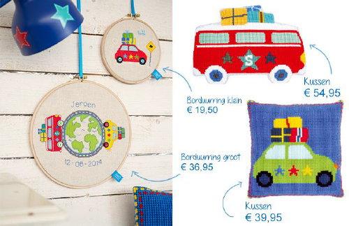 Lief! Lifestyle Borduurpakketten - DroomHome | Interieur & Woonsite