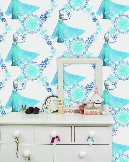 Disney Behang Frozen! - Kinderbehang Frozen voor Meisjes ...
