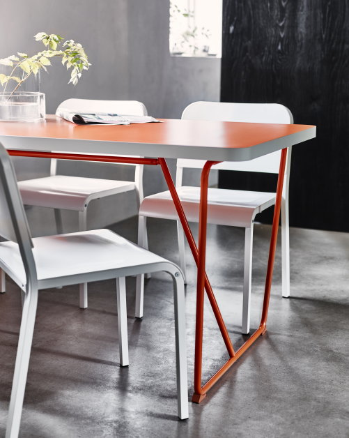Ikea design eettafels droomhome interieur woonsite for Tafel samenstellen