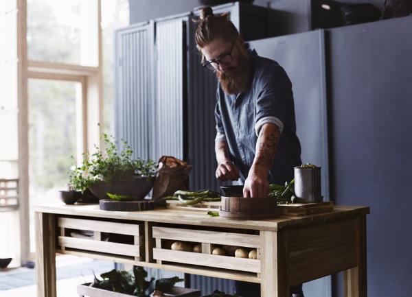 Bartafel Keuken Ikea : Kogsta ? Nieuwe Ikea Meubels & Woonaccessoires van Hout als Bartafel