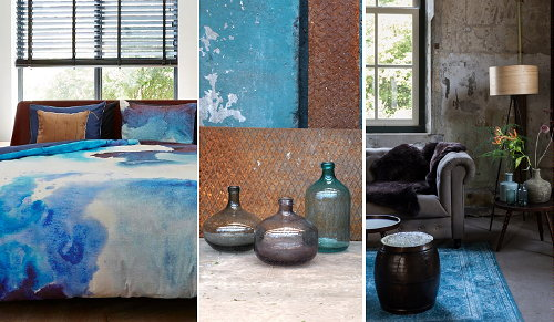 Wouw Blauw Interieur - DroomHome | Interieur & Woonsite