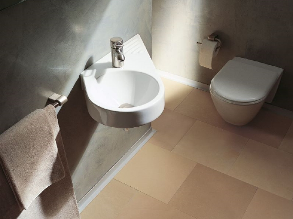 Droomhome interieur woonsite - Foto kleine badkamer ...