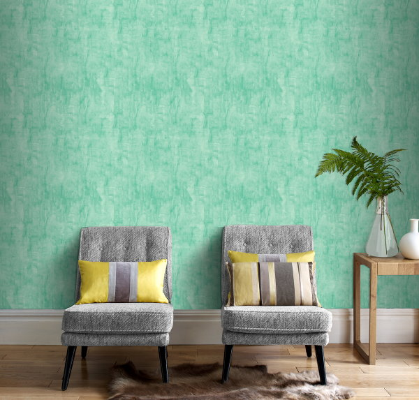 Behang trend: Groen Behang als Senne van Graham & Brown – MEER Behang… (Foto Graham & Brown Wallpaper  op DroomHome.nl)
