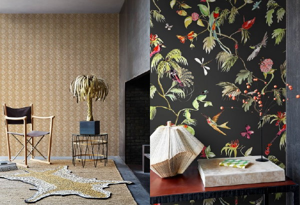 Behangtrends 2016: Hip of Luxe? – BN Wallcoverings Designed for Living Wallpaper Behang Collectie. (Foto BN Wallcoverings – Perscentrum Wonen  op DroomHome.nl)
