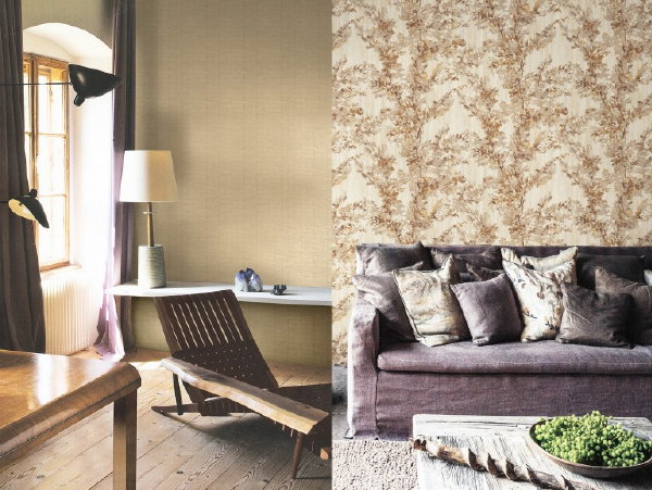 Behangtrends 2016: Hip of Luxe? – Origin Luxury Wallcoverings Lodge Wallpaper Behang Collectie. (Foto BN Wallcoverings – Perscentrum Wonen  op DroomHome.nl)