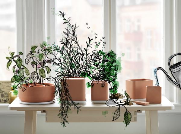 Groene Keuken Ikea : Maak je interieur groener en haal de natuur in huis met de nieuwe