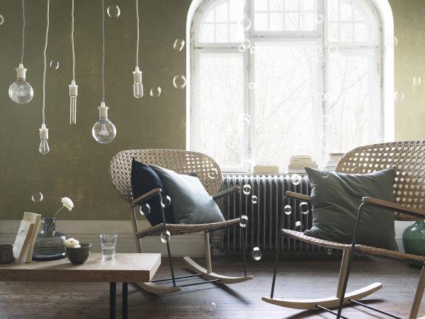 Scandinavisch Design Schommelstoel.Droomhome Interieur Woonsite