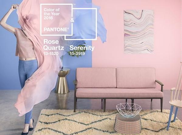 Rozenkwarts Slaapkamer : Pantone Kleur van het Jaar 2016: Rose Quartz ...