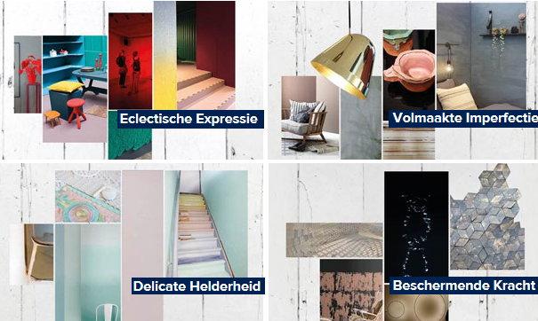 Histor kleurtrends 2016 droomhome interieur woonsite for Interieur kleuren