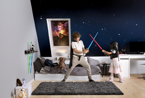 star wars rolgordijnen droomhome interieur woonsite. Black Bedroom Furniture Sets. Home Design Ideas