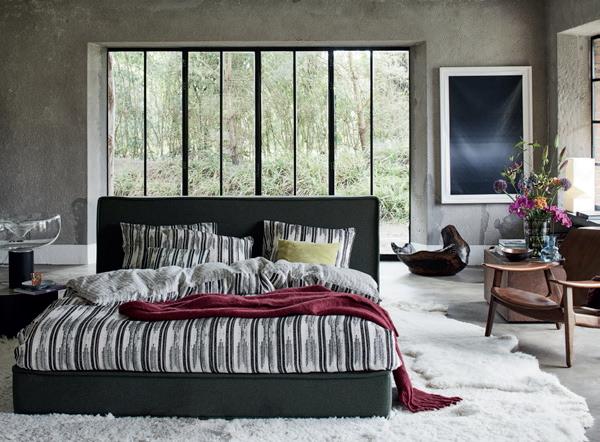 Slaapkamer Zwart Wit Grijs : Zwart wit grijs slaapkamer essenza ...