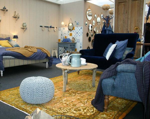 Slaapkamer blauw geel beste inspiratie voor huis ontwerp for Interieur geel