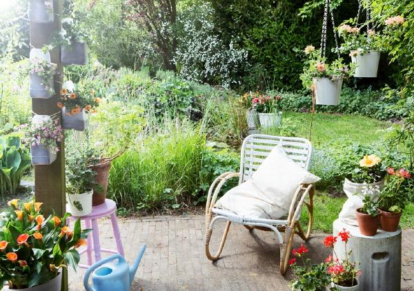 Plant Slaapkamer : Vier Tuintrends 2016: De Cirkeltuin met Tuinplanten ...
