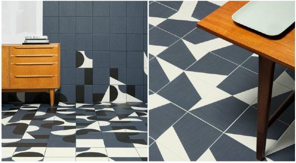 Persoonlijke vloeren trend droomhome interieur woonsite - Porselein vloeren ...
