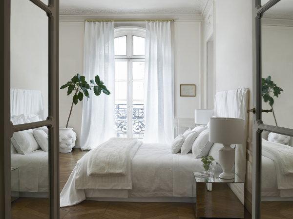 ... 2017 – Wit, Witter, Witst in de Slaapkamer. (Foto Zara Home op