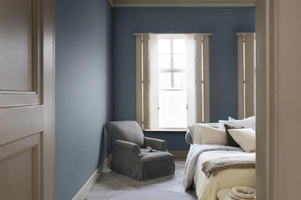 Flexa kleur 2017 denim drift droomhome interieur woonsite - Kleur voor de slaapkamer van de meid ...