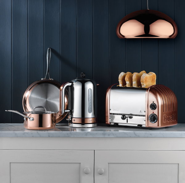 Keuken Design Icoon: Dualit Classic Toaster – RVS Dualit Broodrooster (Foto Dualit  op DroomHome.nl)