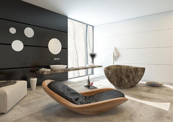 Hammam Badkamer Ideeen : Hammam modern badkameer met bad en douche badkamer ideeen