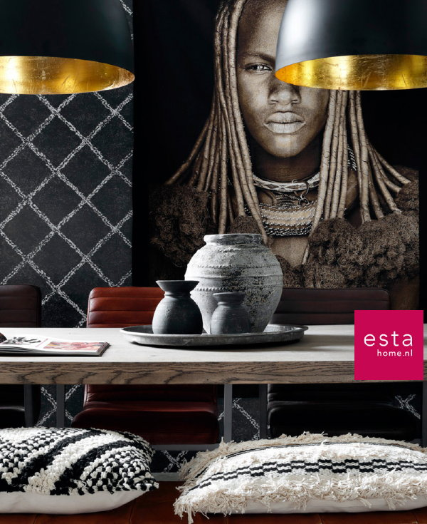 ESTAhome Behang Boho Chic   DroomHome   Interieur  u0026 Woonsite
