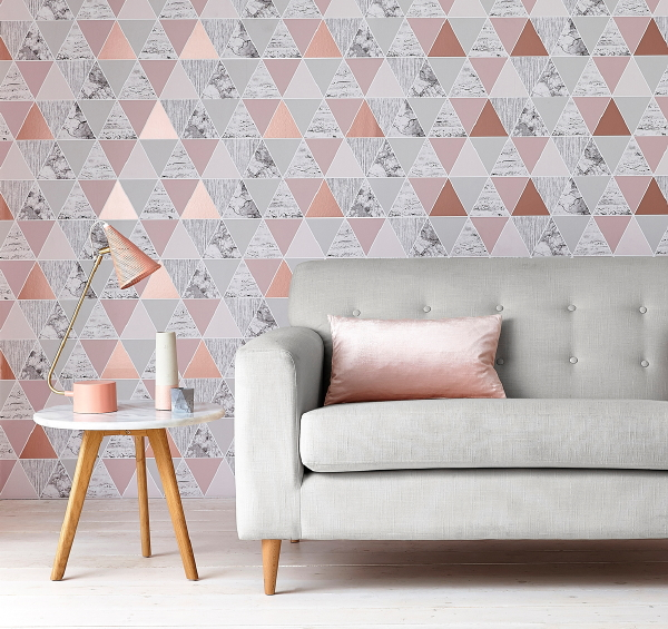 Behang Trends: Reflections - Graham & Brown Wallpaper of the Year 2017 ...