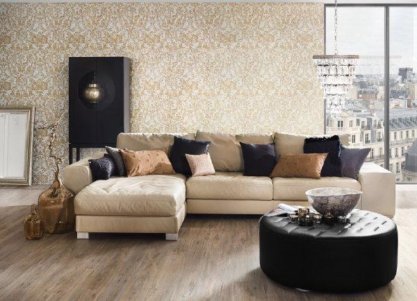 Moments elegant barok behang droomhome interieur woonsite - Stijlvol behang ontwerpen ...