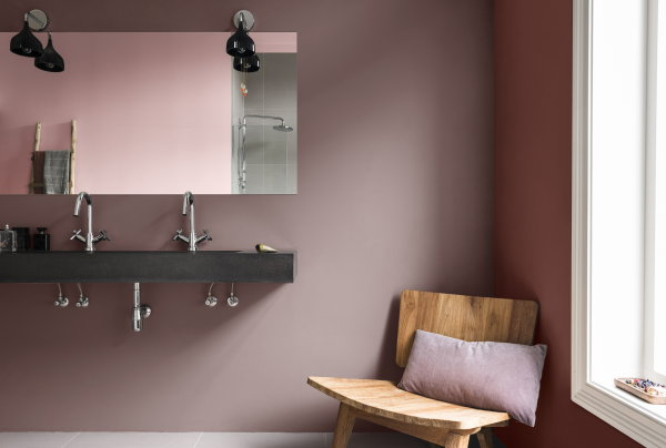 Kleurtrend Roze Interieur : Kleurtrend the comforting home droomhome interieur woonsite