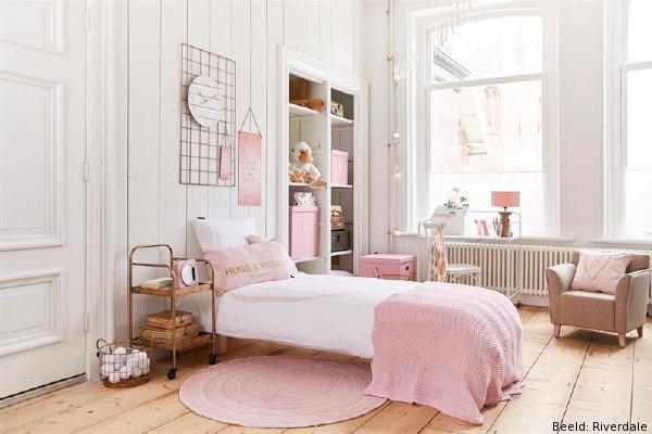 Best Slaapkamer Ideeen Roze Images - Huis & Interieur Ideeën ...