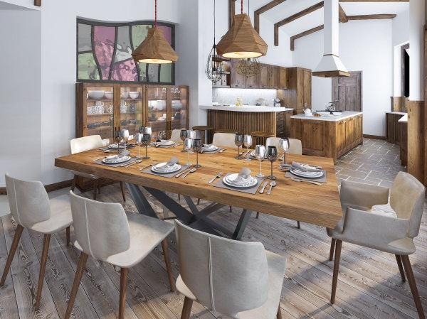 Grote Houten Tafels : Teak houten tafel wooninspiratie droomhome interieur & woonsite