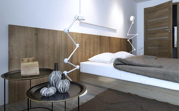 Laminaat tegen de muur plakken for Bed in de muur
