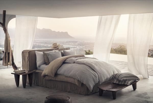hm home zomer woontrends 2017 in de slaapkamer hm dekbedovertrek en kussens dekbedset in