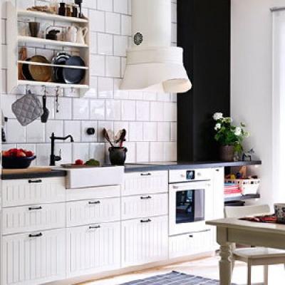 Landelijke keuken ikea inspiratie het beste interieur - Kleine keukenstudio ...